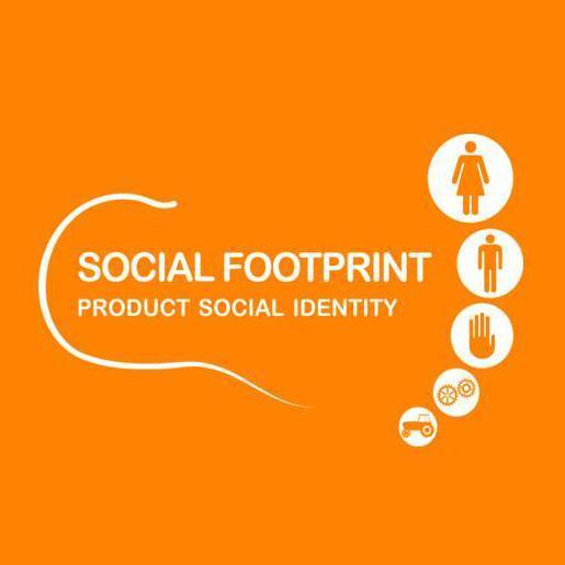 Certificação internacional de pegada social.